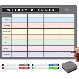 Magnetic Weekly Planner and Organiser - Landscape - Signature Collection