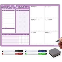 A3 Magnetic Weekly Planner and Organiser - Advantage Range 3