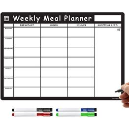 Magnetic Weekly Meal Planner and Menu - Original Landscape