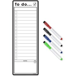 Magnetic To Do List and Planner - Slim A3 (VARIOUS COLOURS AVAILABLE)