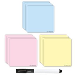 Magnetic Dry Wipe Sticky Post Notes (VARIOUS COLOURS AVAILABLE)