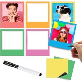 Magnetic Photo Frames and Mini MagNotes (VARIOUS COLOURS AVAILABLE)