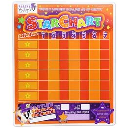 Magnetic Reward and Star Chart for Children