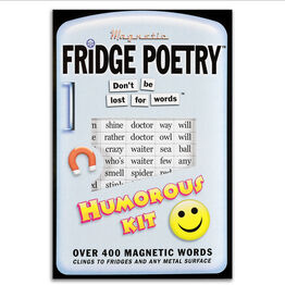 Magnetic Poetry For Your Fridge, Whiteboards, Home and Office - Humorous