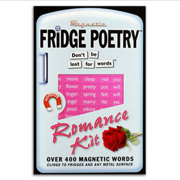 Magnetic Poetry For Your Fridge, Whiteboards, Home and Office - Romantic