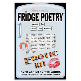 Magnetic Poetry For Your Fridge, Whiteboards, Home and Office - Erotic