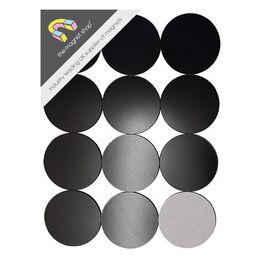 Magnetic Circles - 77mm Diameter - Self-Adhesive