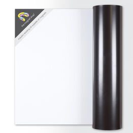 0.85mm Thick Gloss White Magnetic Rolls for Signs and Crafts