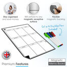 Magnetic Weekly Planner and Organiser - Portrait - BLANK additional 6