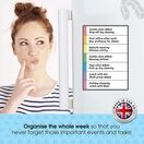 Magnetic Weekly Planner and Organiser - Portrait & Slim additional 37