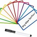 Magnetic Dry Wipe Labels (Rounded) (VARIOUS COLOURS AVAILABLE) additional 19
