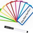 Magnetic Dry Wipe Labels (Rounded) (VARIOUS COLOURS AVAILABLE) additional 7