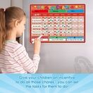 A3 Magnetic Reward and Star Chart for Children (VARIOUS COLOURS AVAILABLE) additional 13