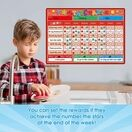 A3 Magnetic Reward and Star Chart for Children (VARIOUS COLOURS AVAILABLE) additional 11