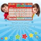 A3 Magnetic Reward and Star Chart for Children (VARIOUS COLOURS AVAILABLE) additional 12