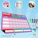 A3 Magnetic Reward and Star Chart for Children (VARIOUS COLOURS AVAILABLE) additional 17