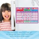 A3 Magnetic Reward and Star Chart for Children (VARIOUS COLOURS AVAILABLE) additional 21