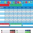 A3 Magnetic Reward and Star Chart for Children (VARIOUS COLOURS AVAILABLE) additional 22