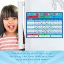 A3 Magnetic Reward and Star Chart for Children (VARIOUS COLOURS AVAILABLE) additional 27