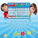 A3 Magnetic Reward and Star Chart for Children (VARIOUS COLOURS AVAILABLE) additional 25