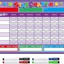 A3 Magnetic Reward and Star Chart for Children (VARIOUS COLOURS AVAILABLE) additional 29
