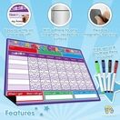 A3 Magnetic Reward and Star Chart for Children (VARIOUS COLOURS AVAILABLE) additional 31