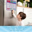 A3 Magnetic Reward and Star Chart for Children (VARIOUS COLOURS AVAILABLE) additional 35