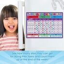 A3 Magnetic Reward and Star Chart for Children (VARIOUS COLOURS AVAILABLE) additional 33