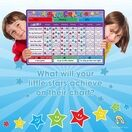 A3 Magnetic Reward and Star Chart for Children (VARIOUS COLOURS AVAILABLE) additional 32
