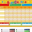 A3 Magnetic Reward and Star Chart for Children (VARIOUS COLOURS AVAILABLE) additional 36