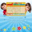 A3 Magnetic Reward and Star Chart for Children (VARIOUS COLOURS AVAILABLE) additional 39