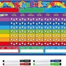 A3 Magnetic Reward and Star Chart for Children (VARIOUS COLOURS AVAILABLE) additional 1