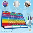 A3 Magnetic Reward and Star Chart for Children (VARIOUS COLOURS AVAILABLE) additional 3