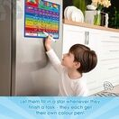 A3 Magnetic Reward and Star Chart for Children (VARIOUS COLOURS AVAILABLE) additional 5