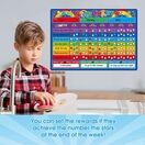 A3 Magnetic Reward and Star Chart for Children (VARIOUS COLOURS AVAILABLE) additional 6
