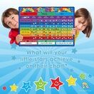 A3 Magnetic Reward and Star Chart for Children (VARIOUS COLOURS AVAILABLE) additional 4