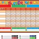 A3 Magnetic Reward and Star Chart for Children (VARIOUS COLOURS AVAILABLE) additional 43
