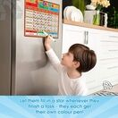 A3 Magnetic Reward and Star Chart for Children (VARIOUS COLOURS AVAILABLE) additional 49
