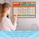 A3 Magnetic Reward and Star Chart for Children (VARIOUS COLOURS AVAILABLE) additional 47