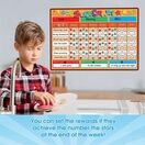 A3 Magnetic Reward and Star Chart for Children (VARIOUS COLOURS AVAILABLE) additional 48