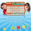 A3 Magnetic Reward and Star Chart for Children (VARIOUS COLOURS AVAILABLE) additional 46