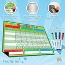 A3 Magnetic Reward and Star Chart for Children (VARIOUS COLOURS AVAILABLE) additional 52
