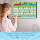 A3 Magnetic Reward and Star Chart for Children (VARIOUS COLOURS AVAILABLE) additional 54