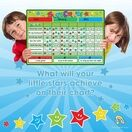 A3 Magnetic Reward and Star Chart for Children (VARIOUS COLOURS AVAILABLE) additional 53