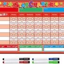 A3 Magnetic Reward and Star Chart for Children (VARIOUS COLOURS AVAILABLE) additional 8