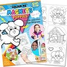 Children's Colour-In Magnet Craft Set - Puppies additional 1