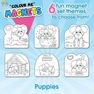 Children's Colour-In Magnet Craft Set - Puppies additional 8