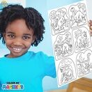 Children's Colour-In Magnet Craft Set - Puppies additional 6