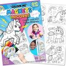 Children's Colour-In Magnet Craft Set - Unicorns additional 1