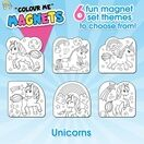 Children's Colour-In Magnet Craft Set - Unicorns additional 6